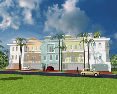 Anclote Townhomes Design